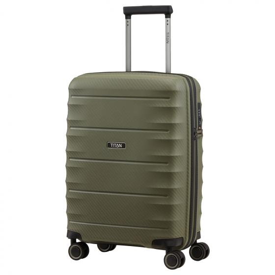Highlight 4-Rollen-Kabinentrolley S 55 cm khaki