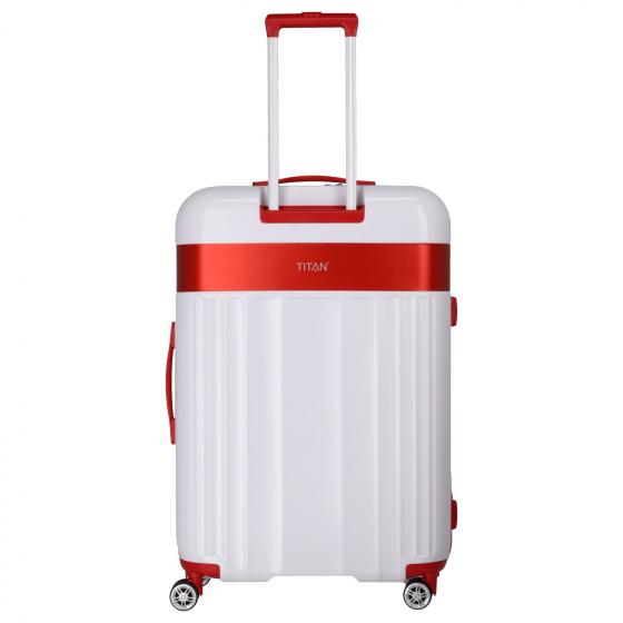 Spotlight Flash VfB Stuttgart 4-Rollen-Trolley L 76 cm white