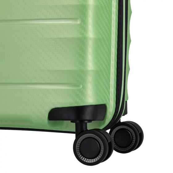 Highlight 4-Rollen-Kabinentrolley S 55 cm green metallic