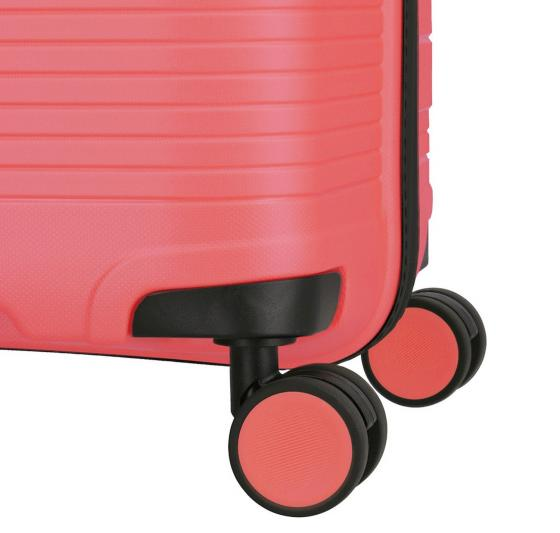 Transport 4-Rollen-Trolley L 77 cm  pink metallic